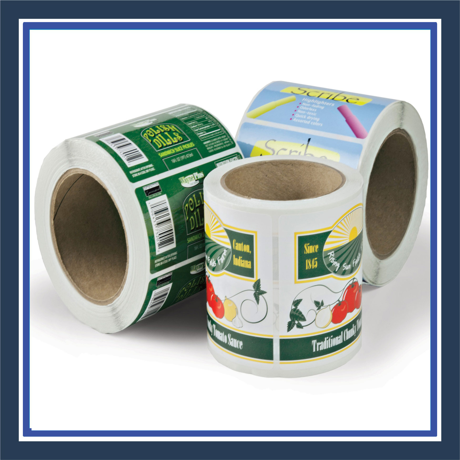 Paper Labels / Stickers